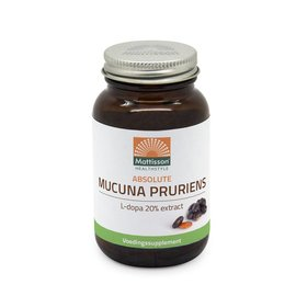 Mattisson Mucuna Pruriens extract- L-dopa 20% extract 120caps