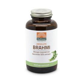 Mattisson Brahmi Bacopa monnierri en bacoside 50% extract 120tabs