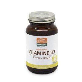 Mattisson Absolute Vitamine D3 75 mcg / 3000 IE