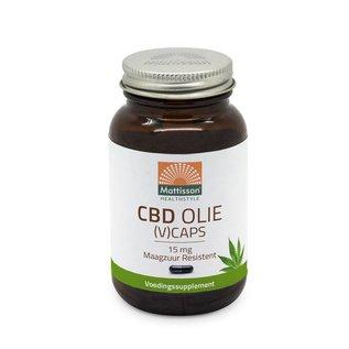 Mattisson CBD Olie vCaps 15 mg