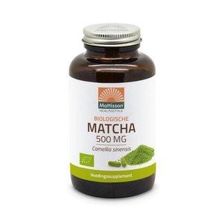 Mattisson Biologisch Matcha 500 mg