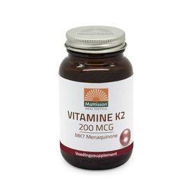 Mattisson Vitamine K2 200 mcg MK7 menaquinone