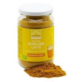 Mattisson Kurkuma Latte ''Goldenmilk gezoet''  Ceylon kaneel - Kokos BIO