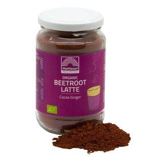 Mattisson Beetroot Latte Gember - Cacao BIO