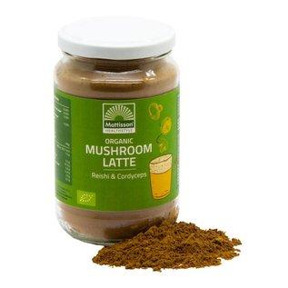 Mattisson Mushroom Latte Reishi - Cordyceps BIO