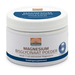 Mattisson Magnesium Bisglycinaat Poeder 11,4% elementair magnesium