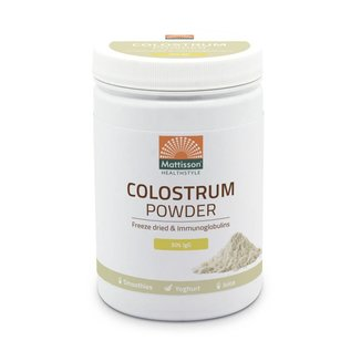 Mattisson Absolute Colostrum Powder 30% IgG fd