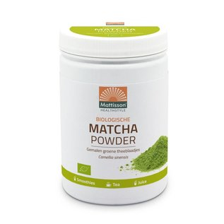 Mattisson Absolute Matcha Poeder Instant Bio