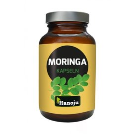 Hanoju Moringa heelblad poeder 180 capsules 350 mg