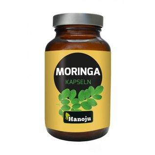 Hanoju Moringa oleifera heelblad poeder 180 capsules 350 mg