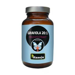 Graviola - Zuurzak vrucht 20:1 - 90 tabletten (450mg)