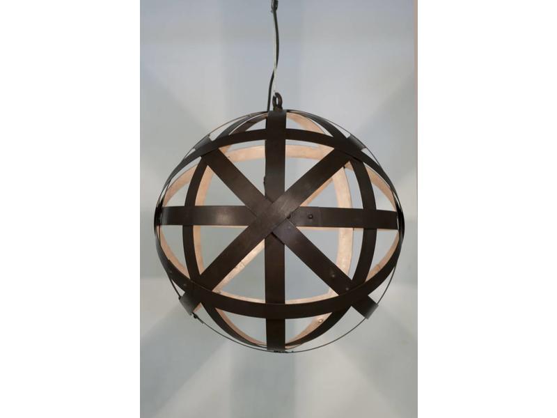 "Hanglamp Staal  ""Corsica"""