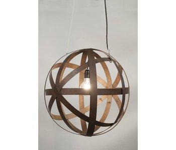 "Stoere Hanglamp Staal  ""Corsica"""