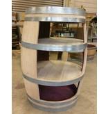 """Wine barrel display """"Cabinet"""" - Copy"""