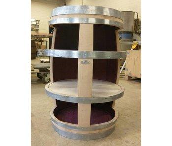 Fonkelnieuw Display kasten kopen? Gemaakt van echte Wijnvaten - Barrel Atelier TR-46