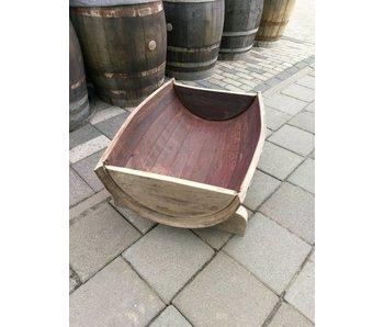 "Wine barrel ""flower box"""