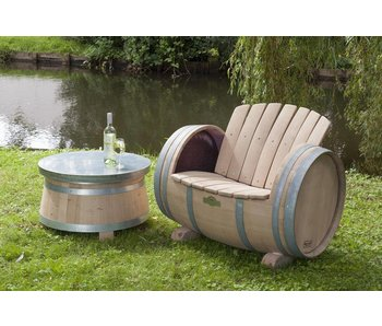 "Wine barrel chair ""Brandy"" - Copy"