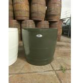 """Barrel Atelier Wijnvat kuip hoog""""Olijf"""""""