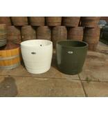 """Barrel Atelier Wijnvat kuip hoog """"Wit"""""""