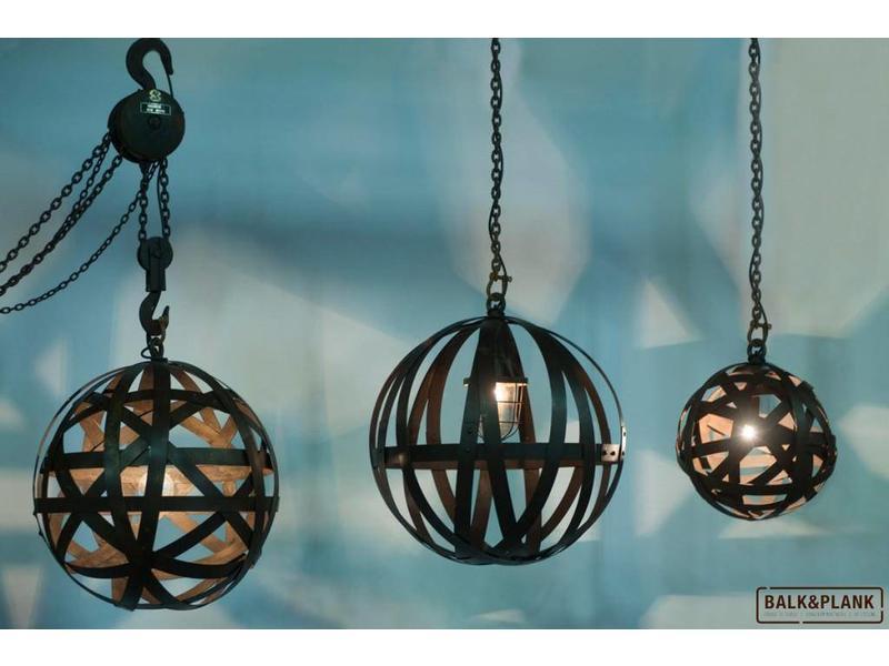 """Hanglamp staal  """"Chablis"""""""