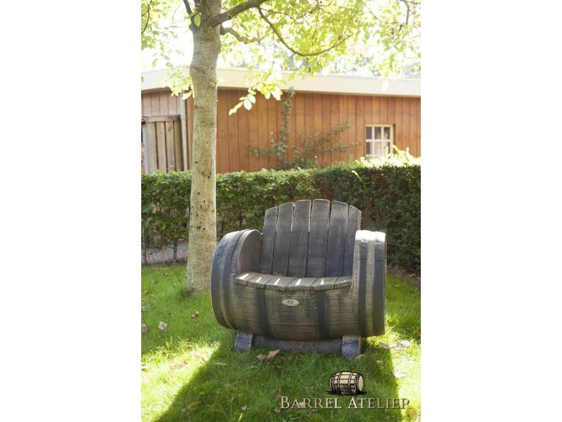 Barrel Atelier Tuin lounge Fauteuil 'DOC' - relax tuinstoel van kunststof