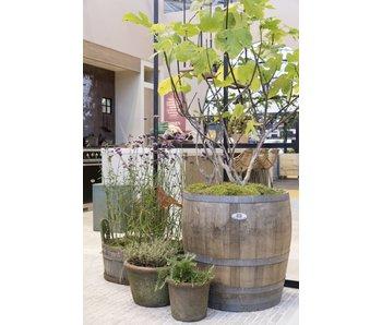 """Wine barrel tub high""""Brandy"""" - Copy"""