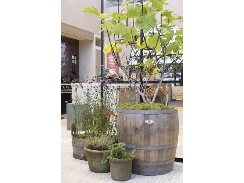 """Wine barrel tub high """"Brandy"""" - Copy"""