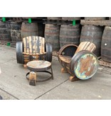 "Lounge set Whisky ""Lowland"" Behandeld met olie"