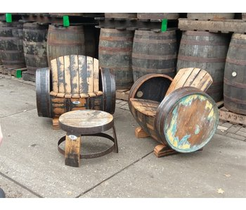 "Lounge set Whisky ""Lowland"""