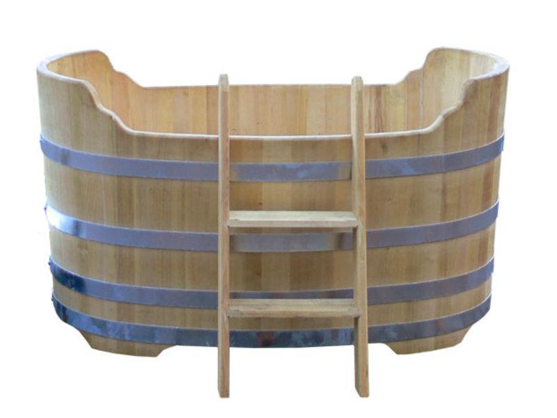 Luxuriöse ovale Badewanne groß