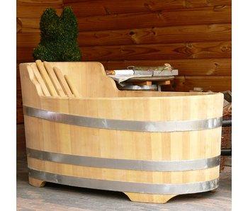 Luxuriöse ovale Badewanne klein