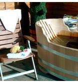 Luxurious oval bathtub small robinia