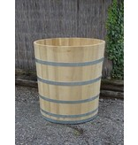 Luxe ronde badkuip middel robinia