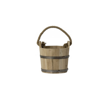 Wooden bucket Sauna