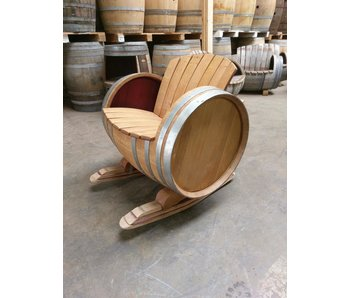 "Wine barrel chair ""Brandy"" - Copy - Copy - Copy"