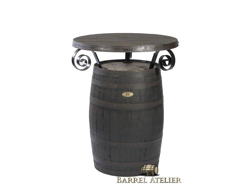 """Statafel Whisky """"eiken tafel blad"""""""