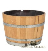 Wijnvat kuip behandeld met olie