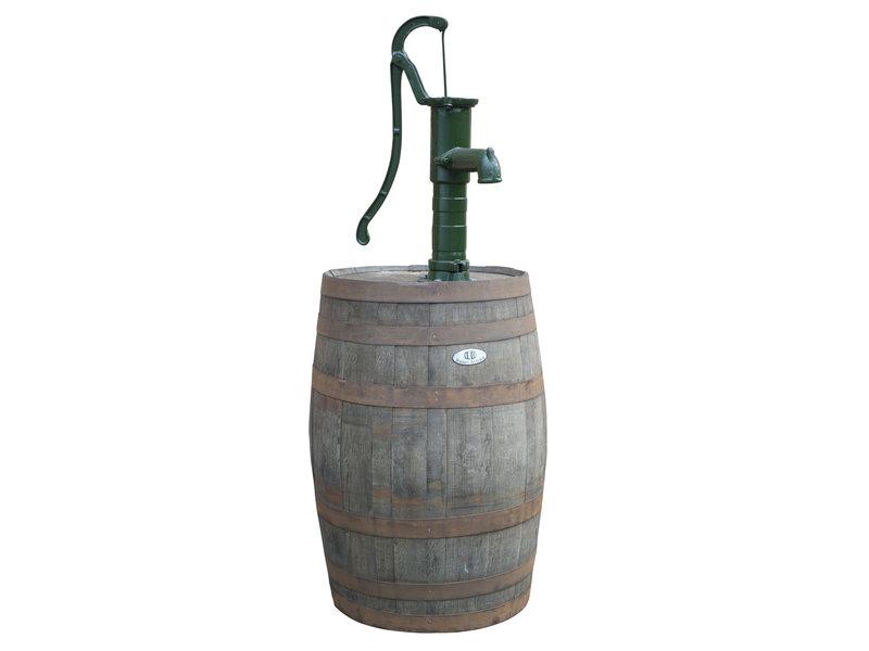 Houten regenton 190L Eiken wijnvat  met pomp