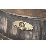 Houten Whiskyvat kast