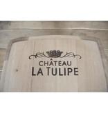 "Wine barrel table ""Chateau la Tulipe"""
