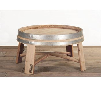 "Wine barrel table ""Champagne"""