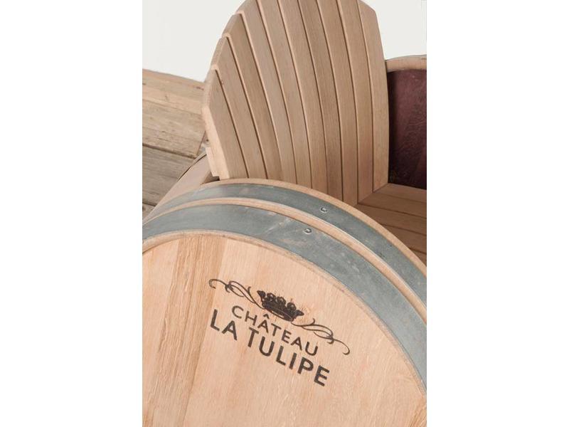 Wine barrel Chair Ilja Gort