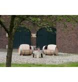 Wine barrel lounge set Ilja Gort