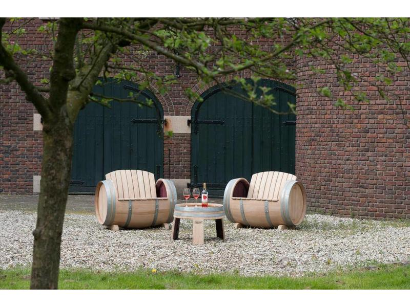 Weinfass-Loungeset Ilja Gort