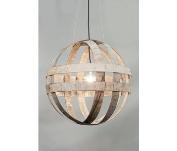 "Stoere Hanglamp staal ""Savoie"""