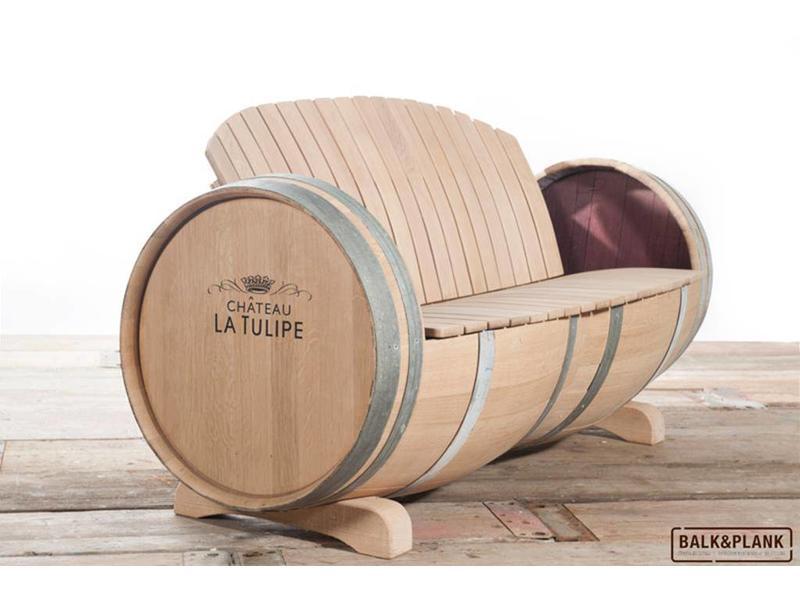 Weinfass-Loungeset XL Ilja Gort