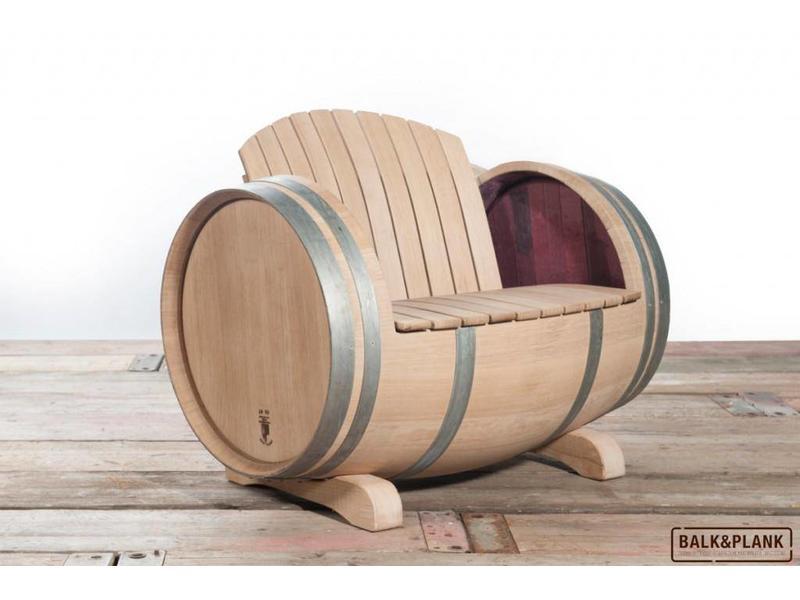 Weinfass-Loungeset