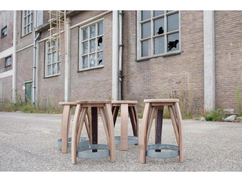 "Wine barrel stool ""Loire"""