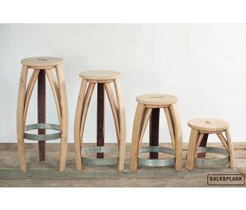 """Wine barrel stool """"Loire"""""""