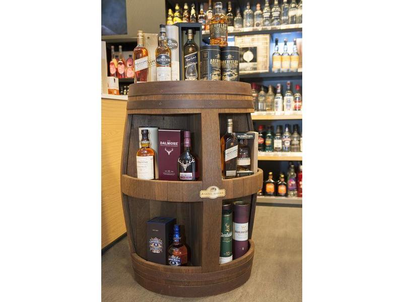 "Wine barrel display ""Cabinet"""